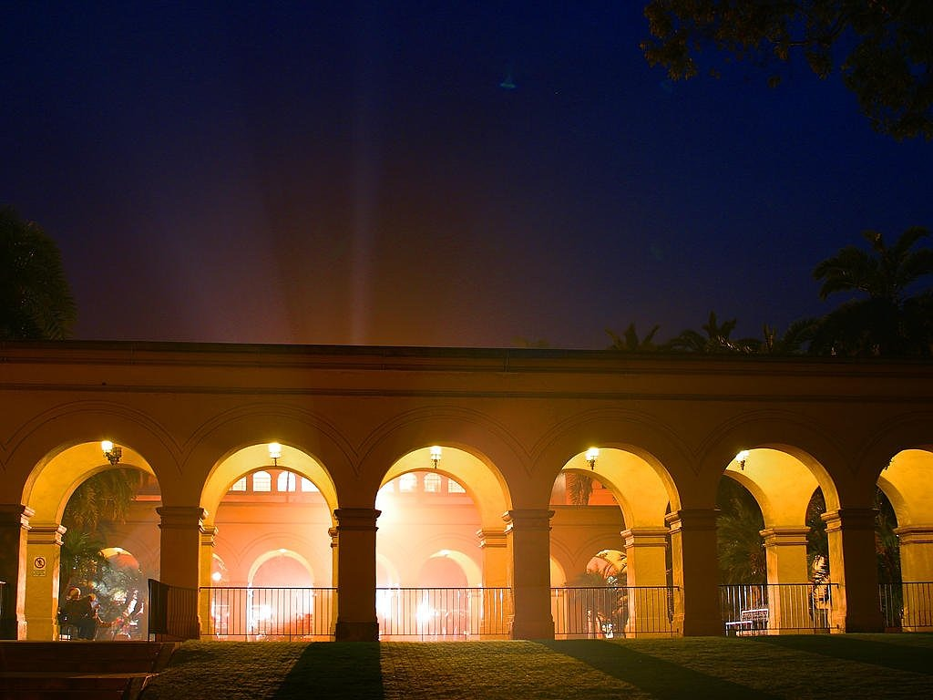 archway lighting light beam free picture