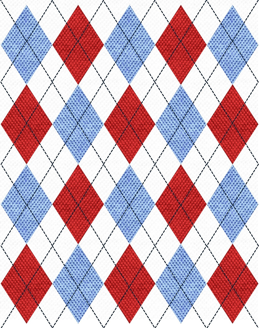 argyle fabric pattern free photo