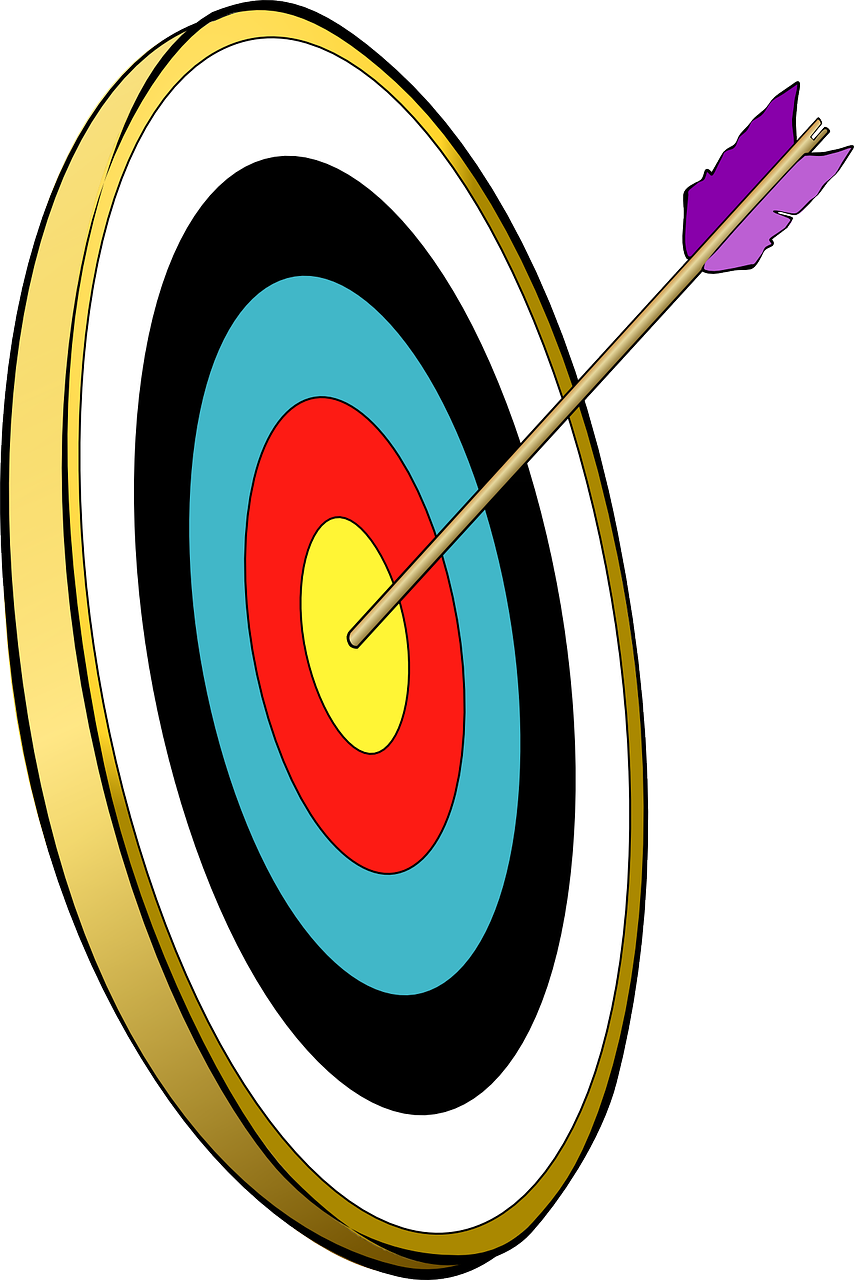 arrow target archery free photo