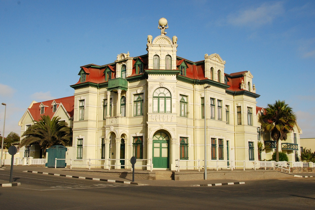 art nouveau swakopmund villa free photo