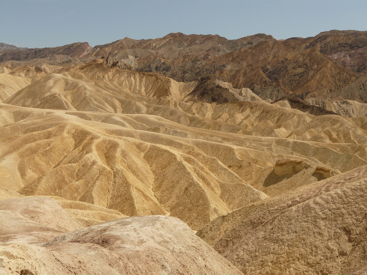artists palette death valley national park free photo