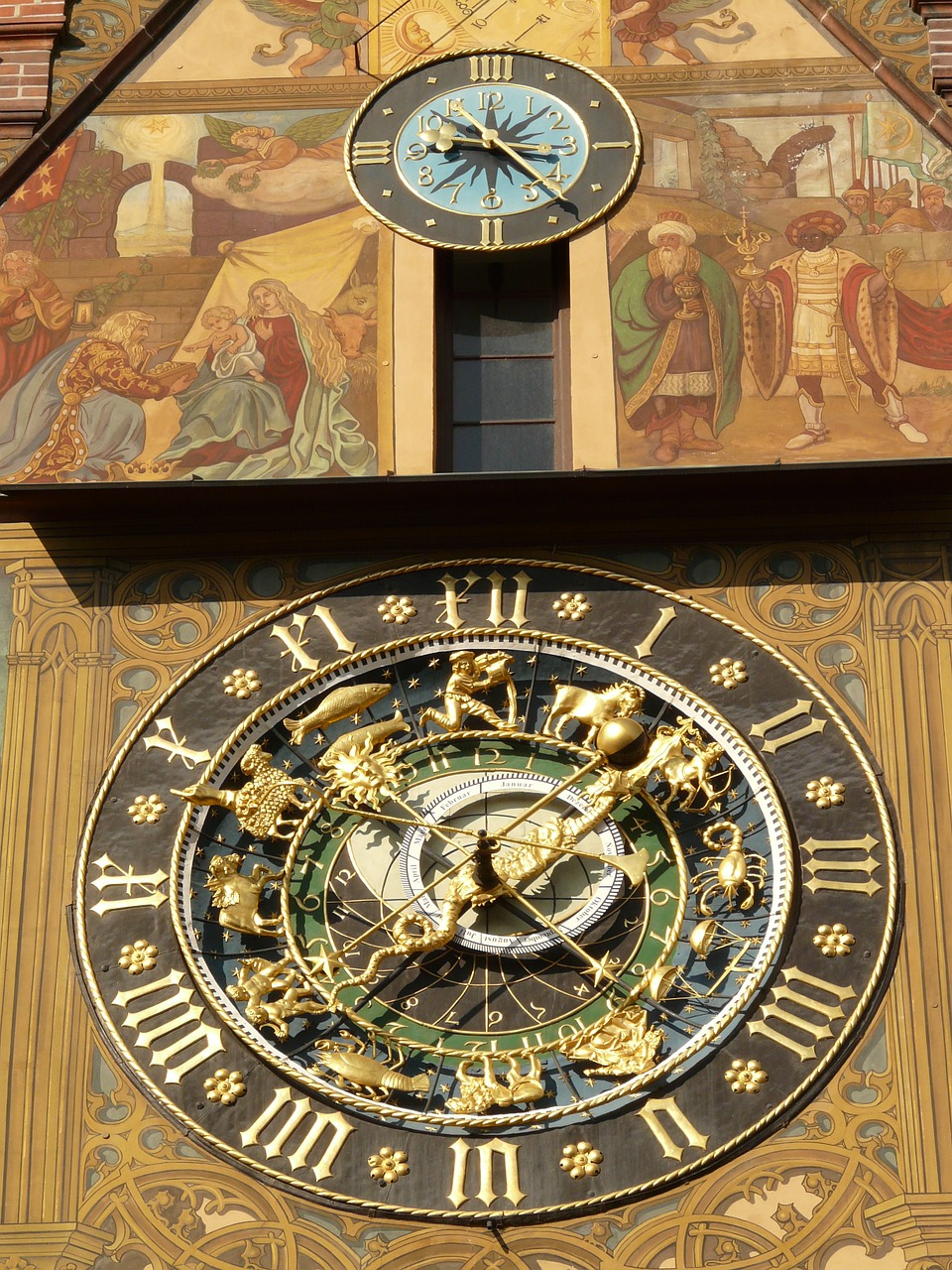 astronomical clock clock time free photo