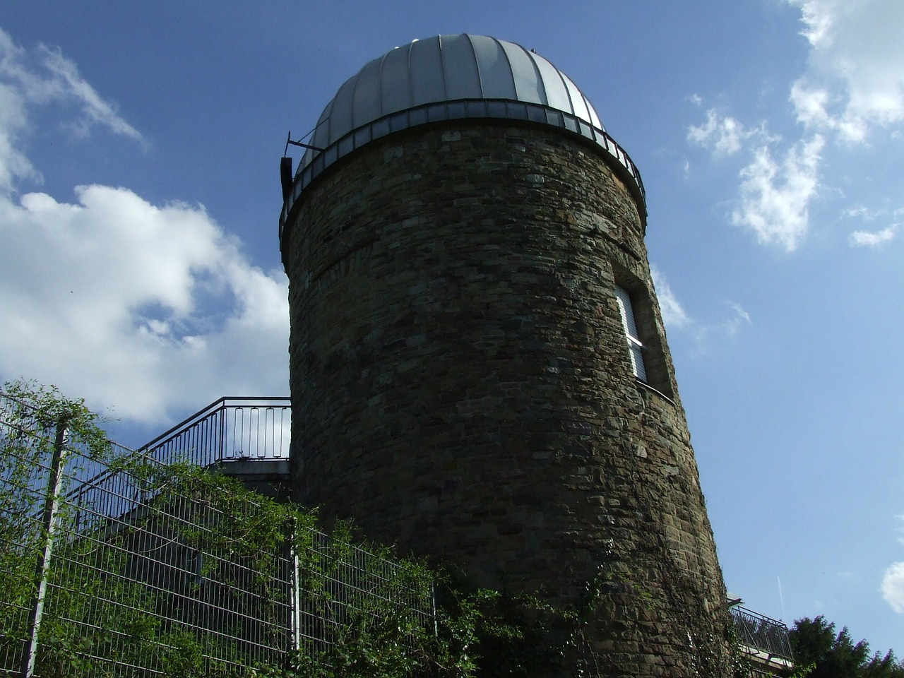 astronomical observatory stuttgart sky free photo