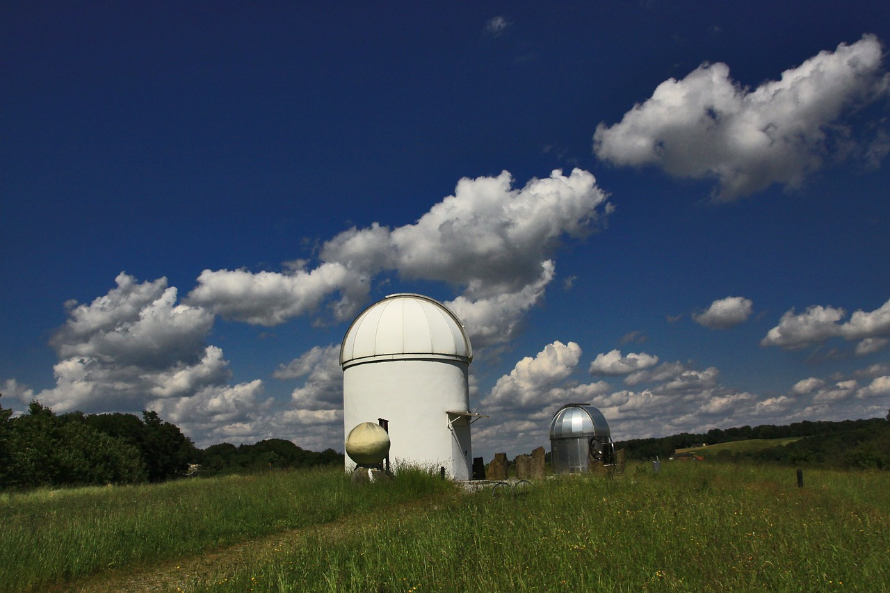 astronomical observatory sky mood free photo