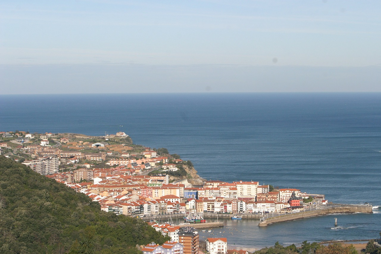 atlantic spain basque country free photo