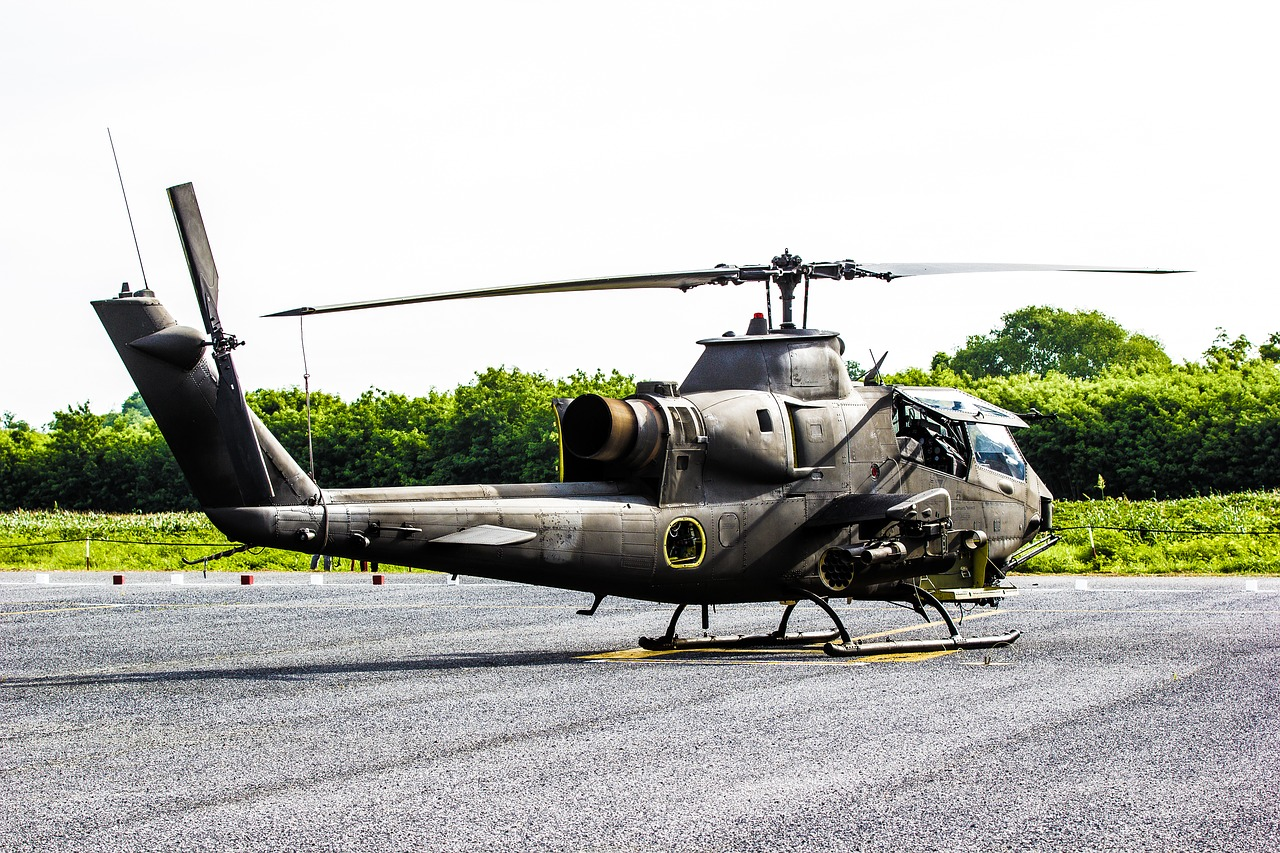 attack cobra helicopter free photo