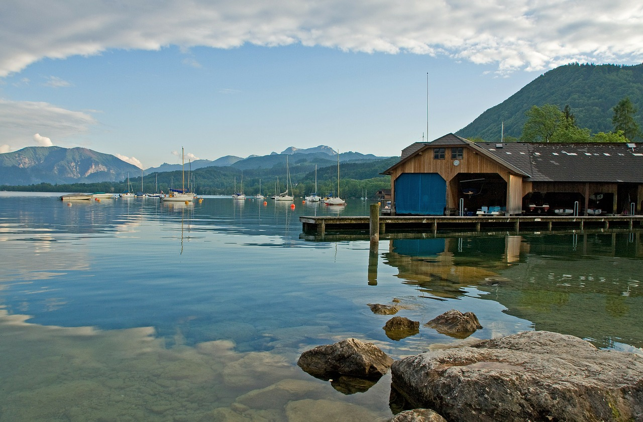 attersee austria nature free photo
