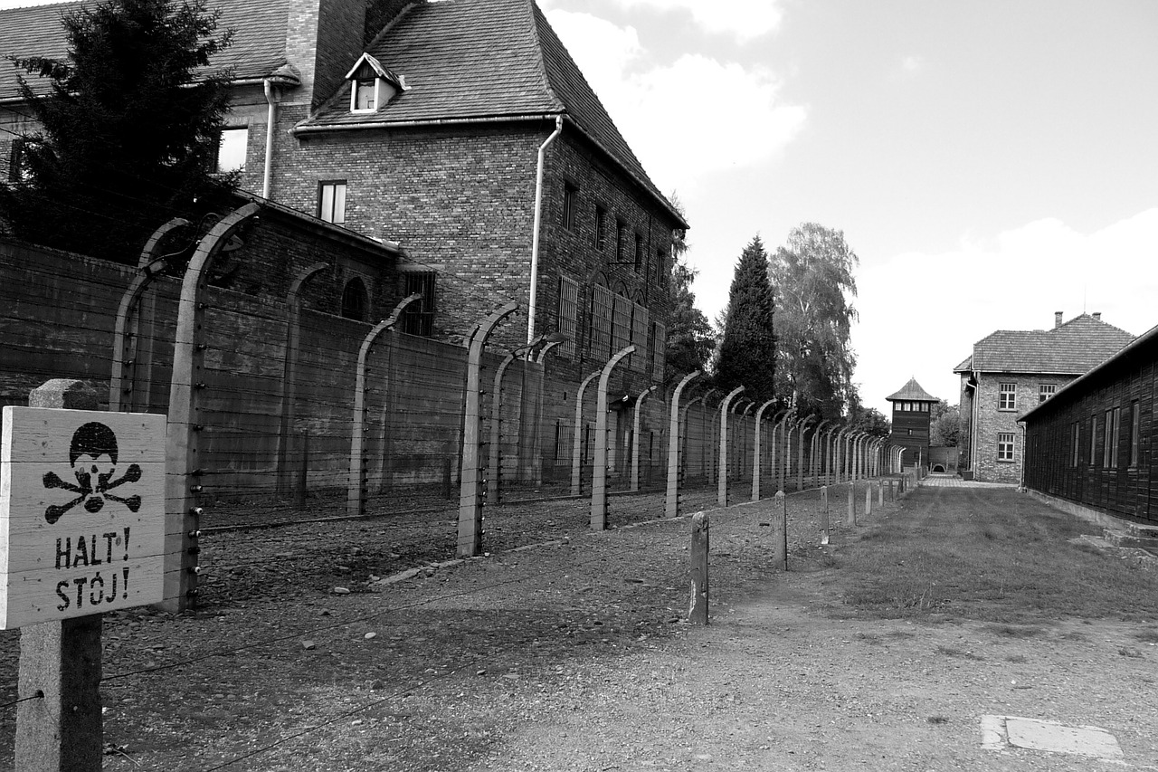auschwitz poland concentration camp free photo