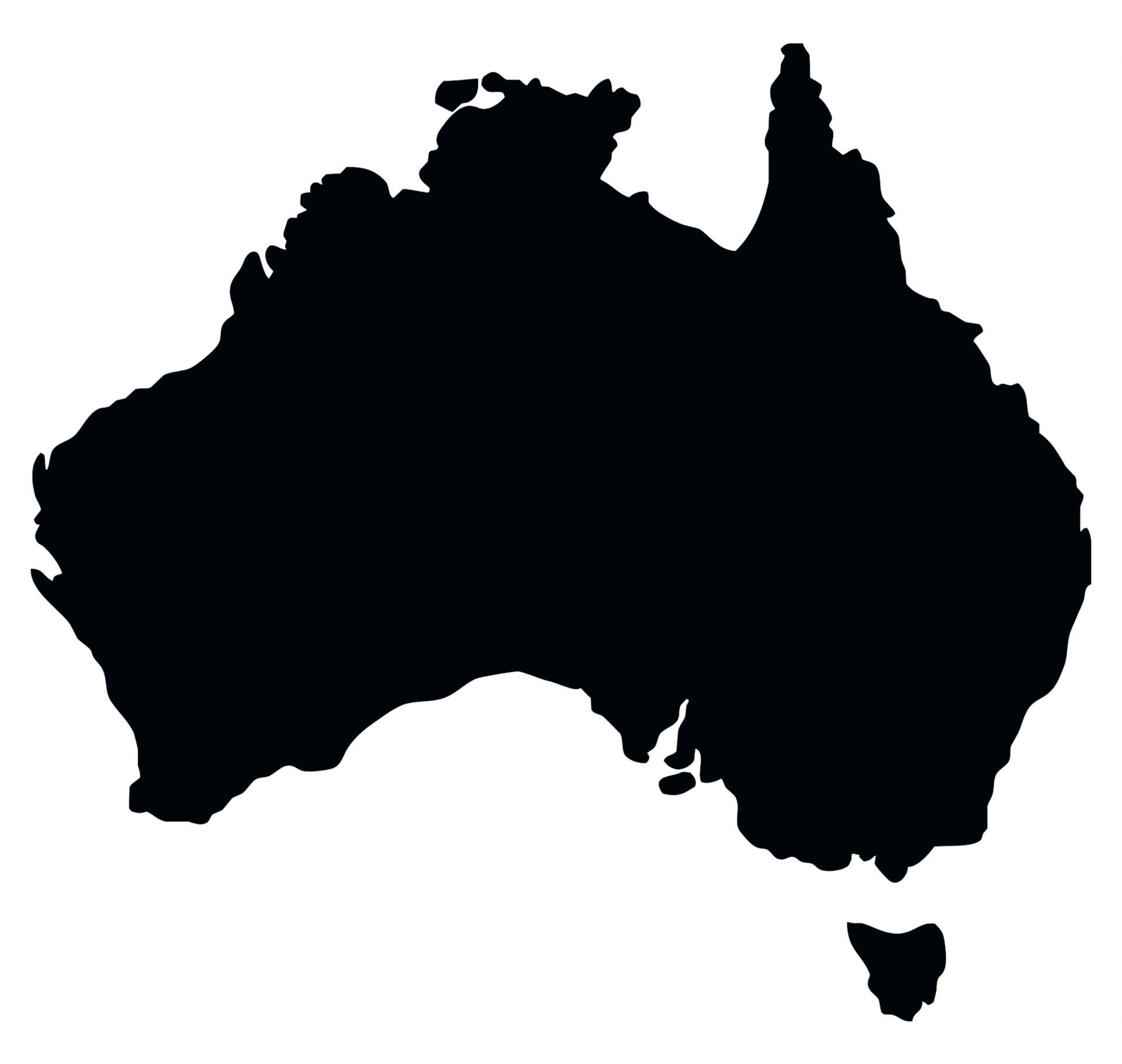 Map Outline Australia.Australia Country Map Outline Shape Free Photo From Needpix Com