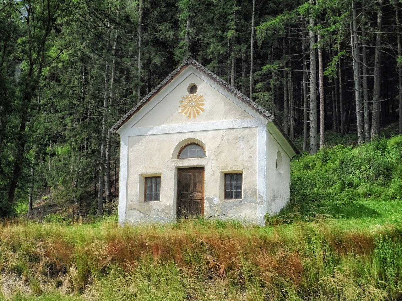 austria chapel church free photo