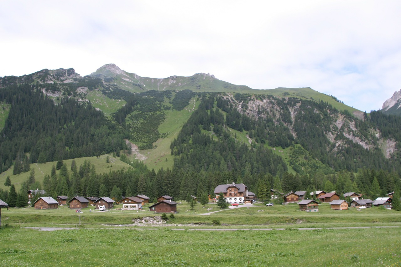 austria voralberg gamperdona valley free photo