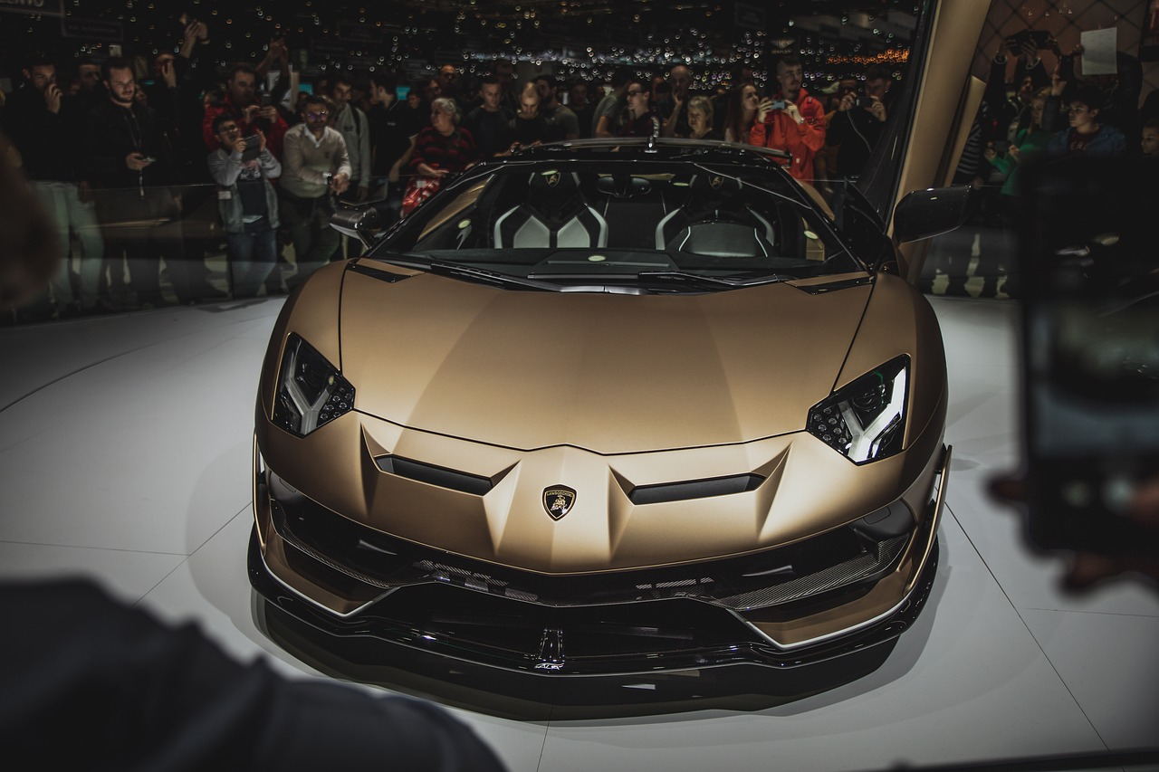 auto  lamborghini  luxury free photo