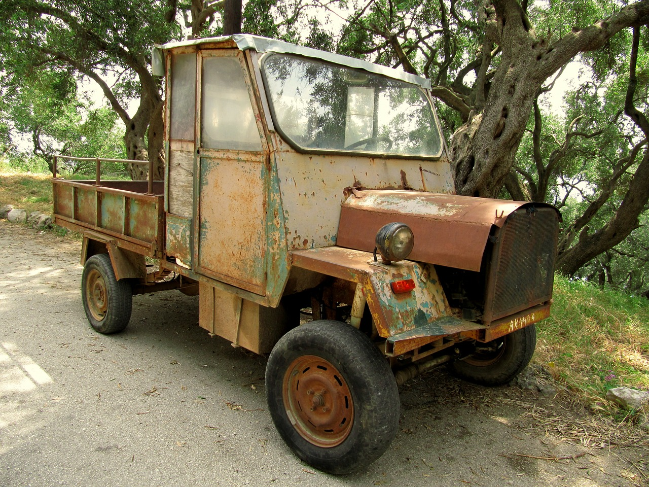 auto oldtimer truck free photo