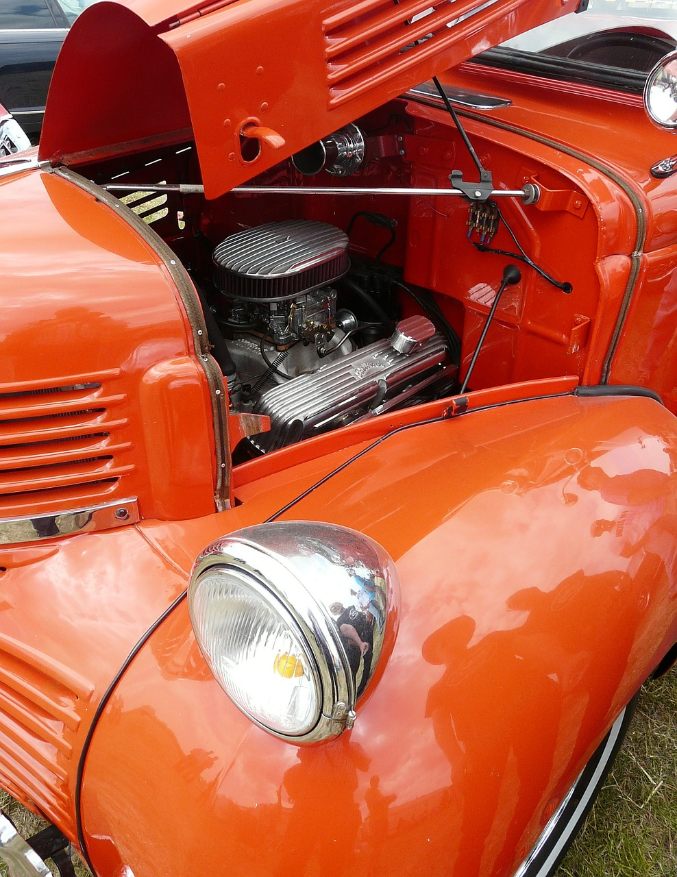 automotive american oldtimer free photo