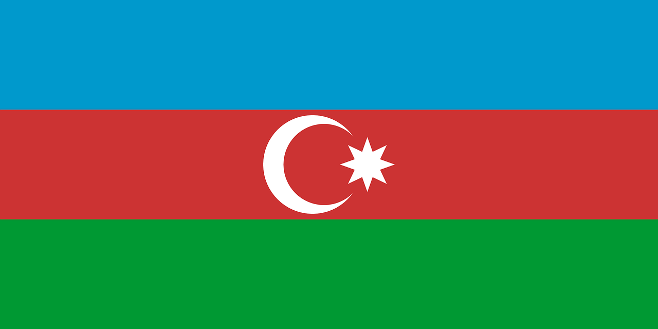 azerbaijan flag national free photo
