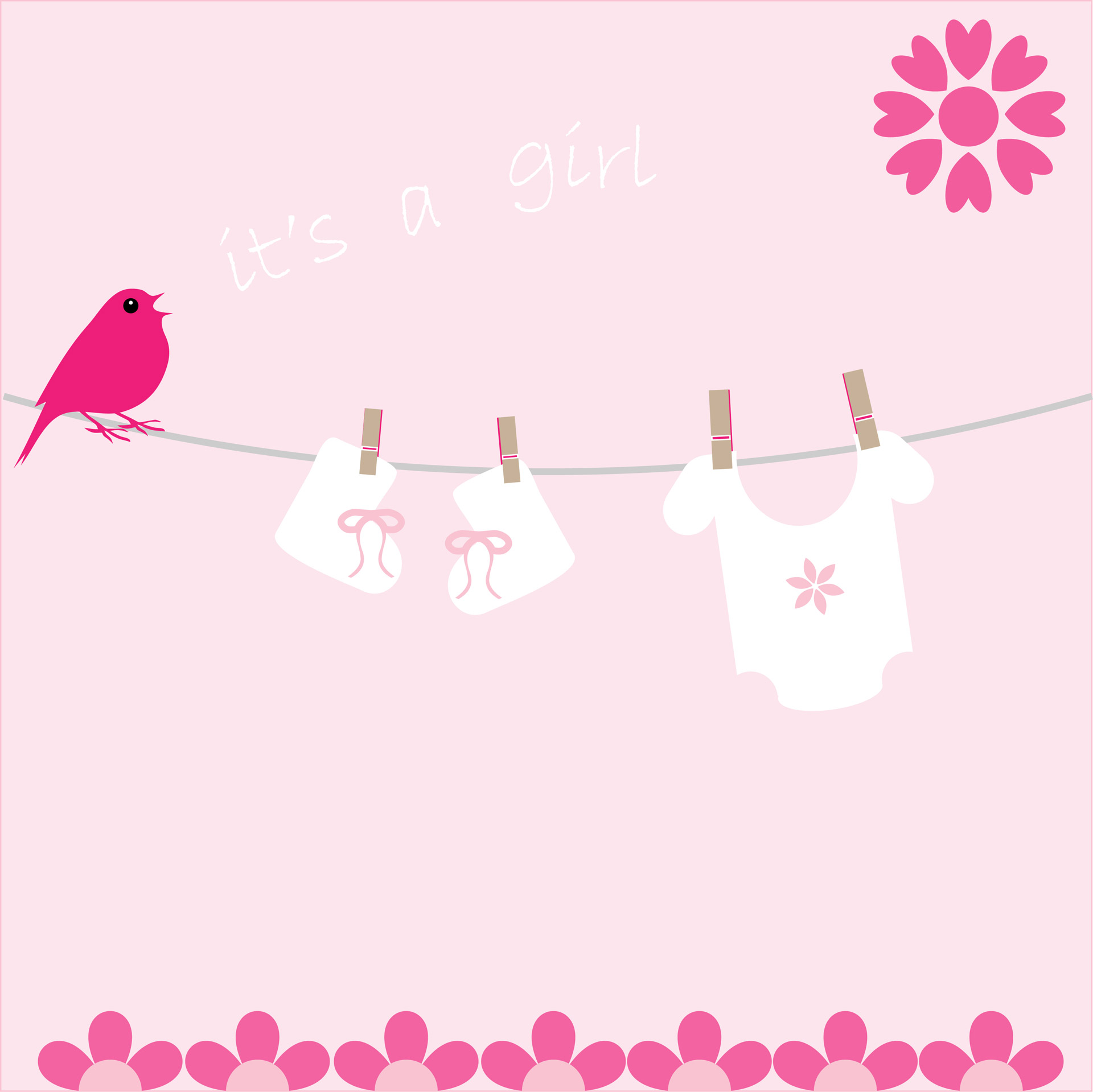 its girl birth announcement card template free photo free announcement clipart images News Announcement Clip Art