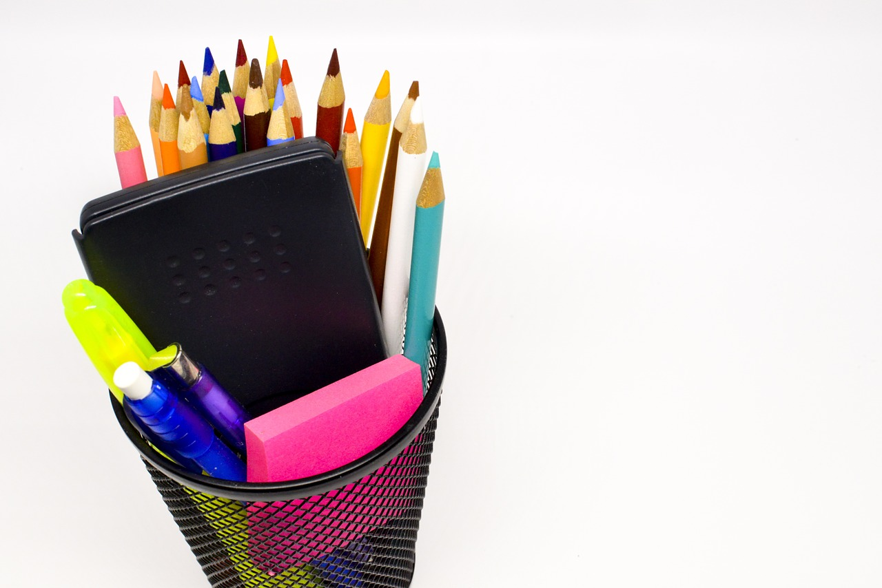 back to school school supplies pencil free photo