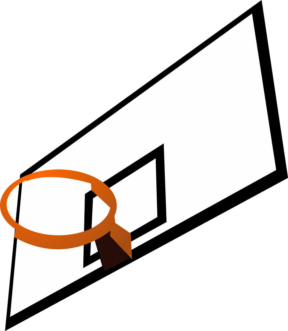 backboard rim basketball free picture