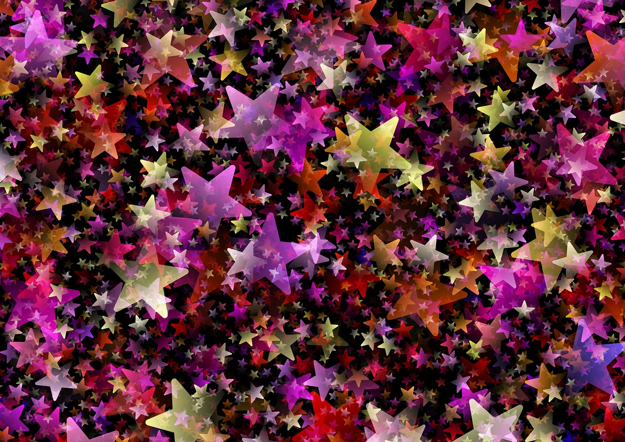 background pattern star free photo