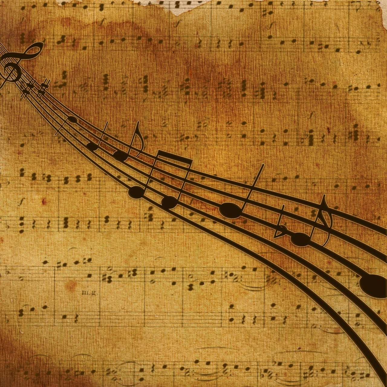 Background,music,nuts,music notes,classic - free photo from