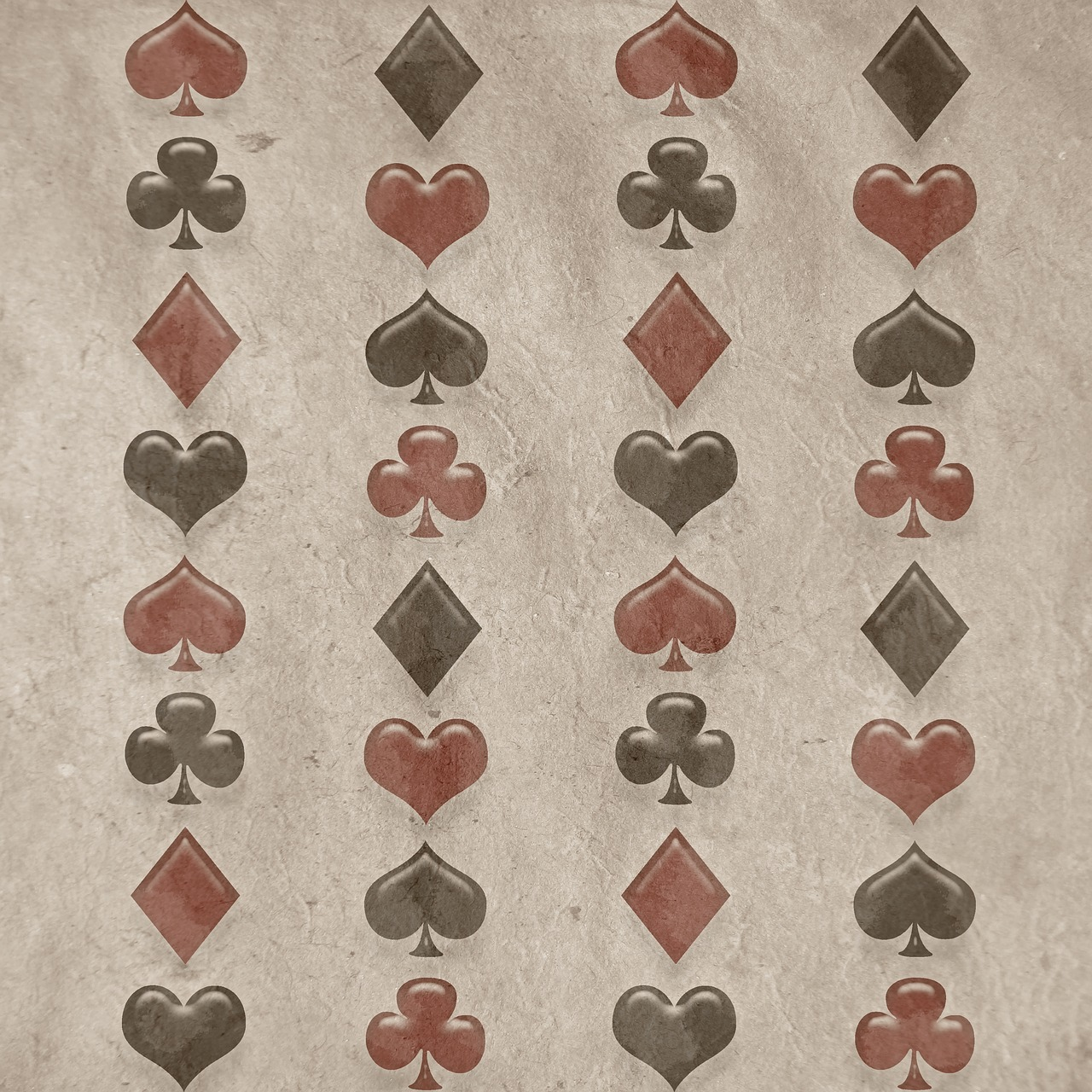 background hearts spades free photo