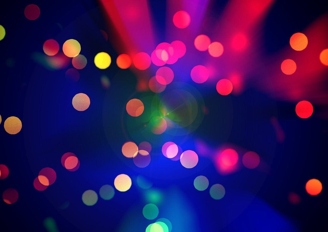 background bokeh light free photo
