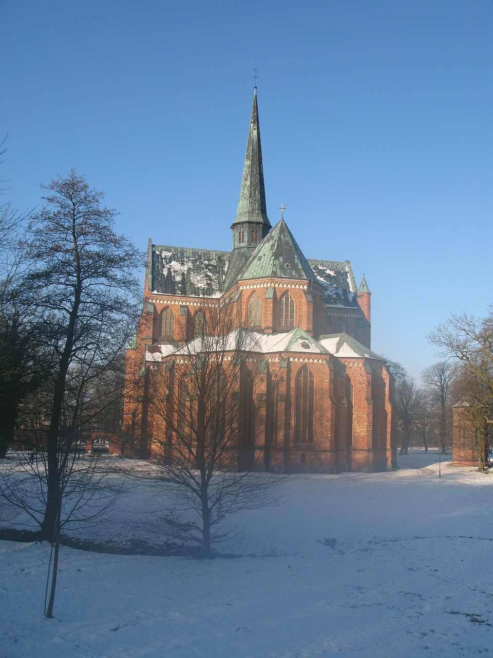 bad doberan dom winter free photo