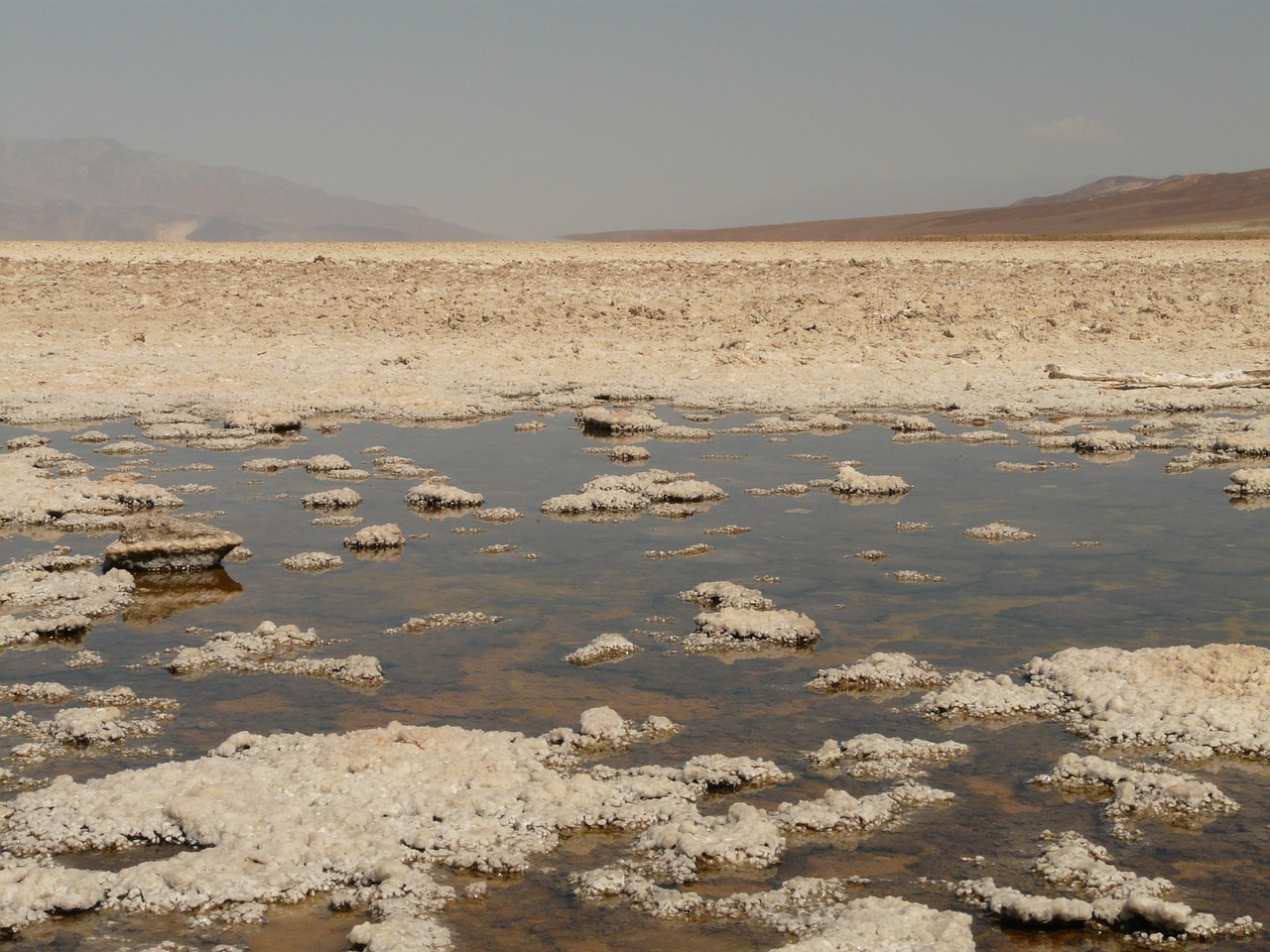 badwater salt pan salt lake free photo