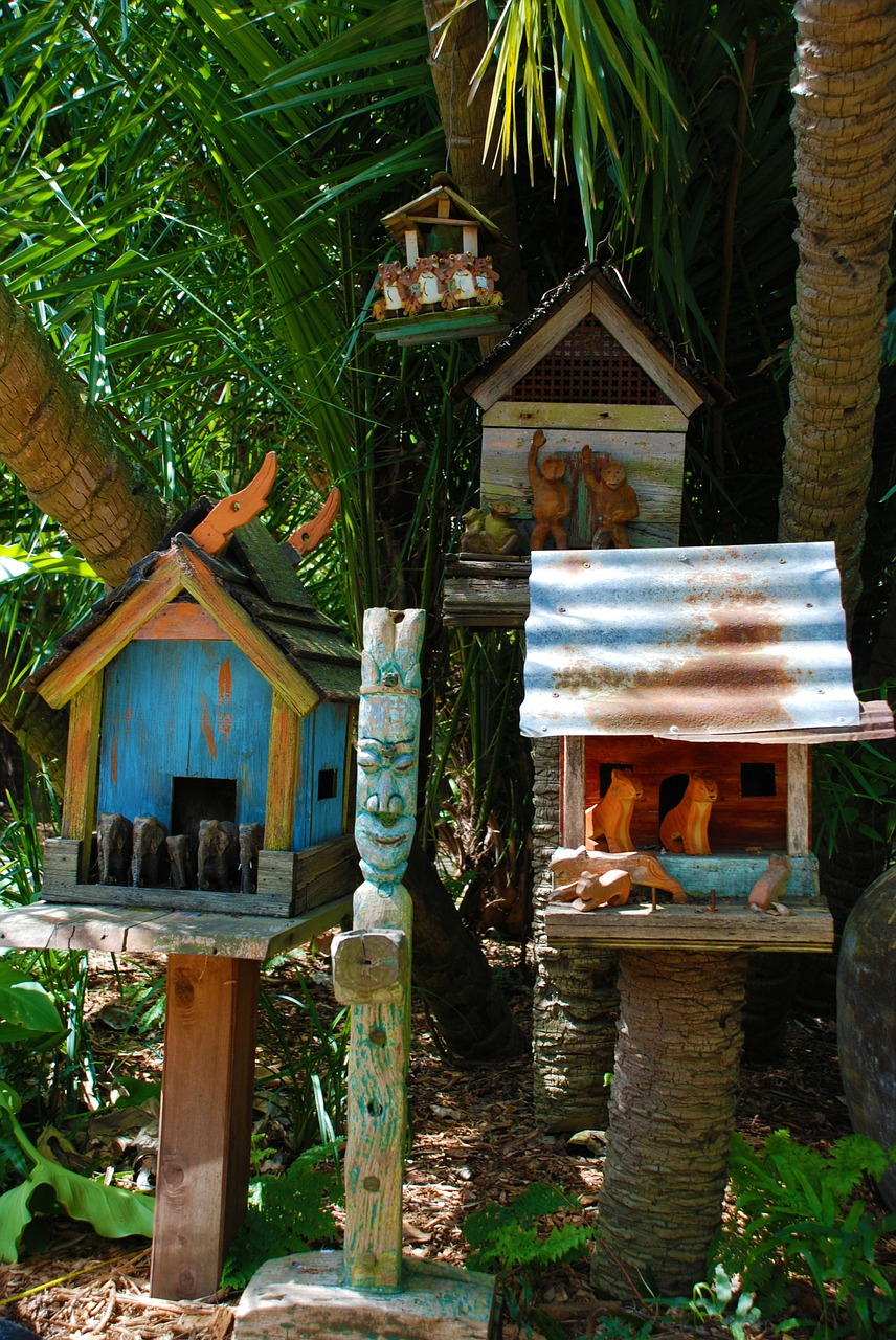 bali birdhouse nest free photo