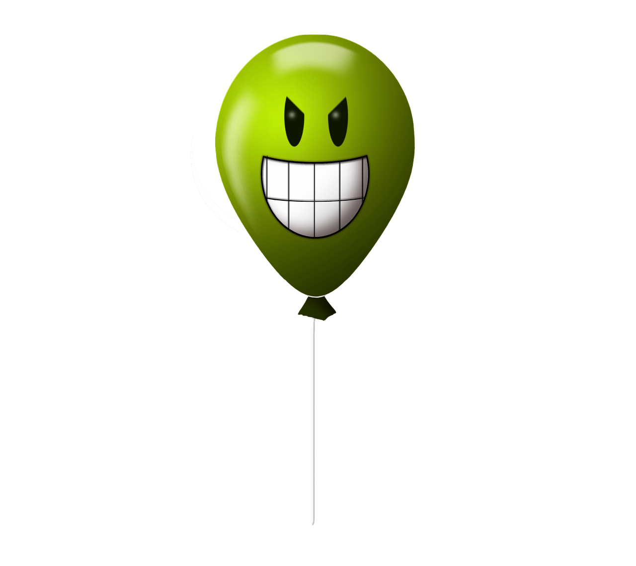 balloon emoticon evil free photo