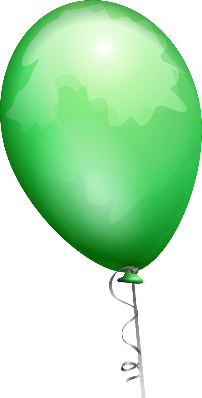 balloon green shiny free photo