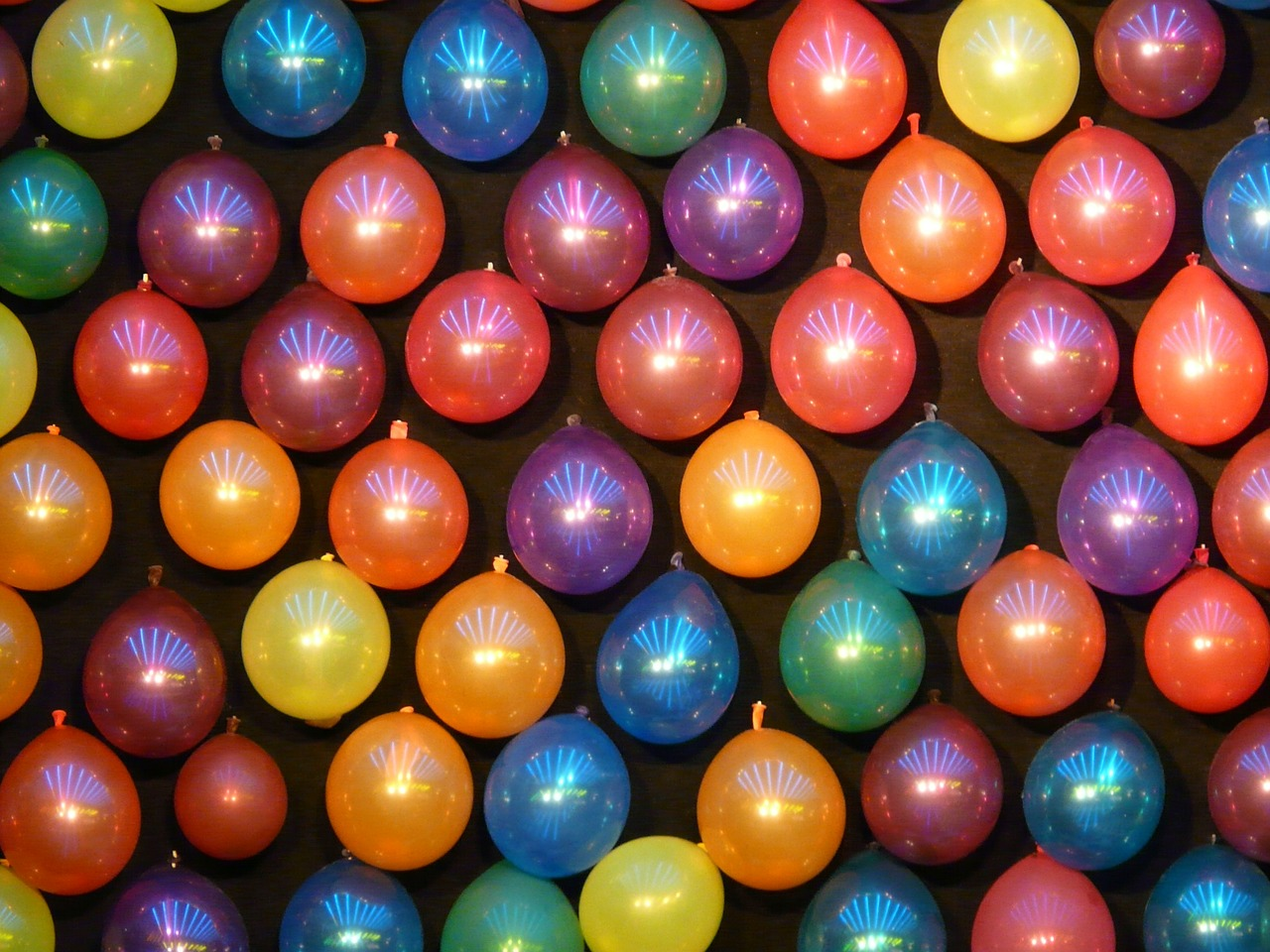 balloons colorful shooting gallery free photo