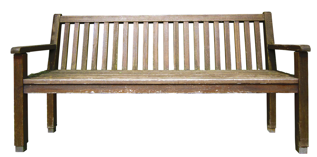 Bank Wooden Bench Nature