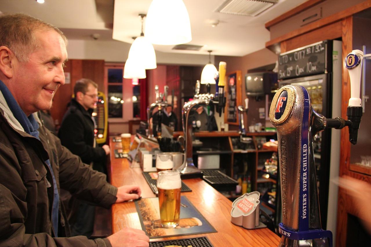 Image result for men drinking in bar