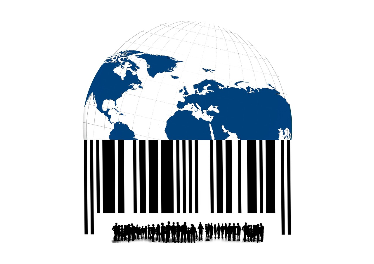 bar code barcode scan lines free photo