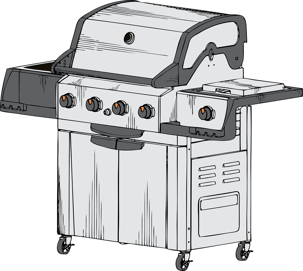 barbecue grill propane free photo
