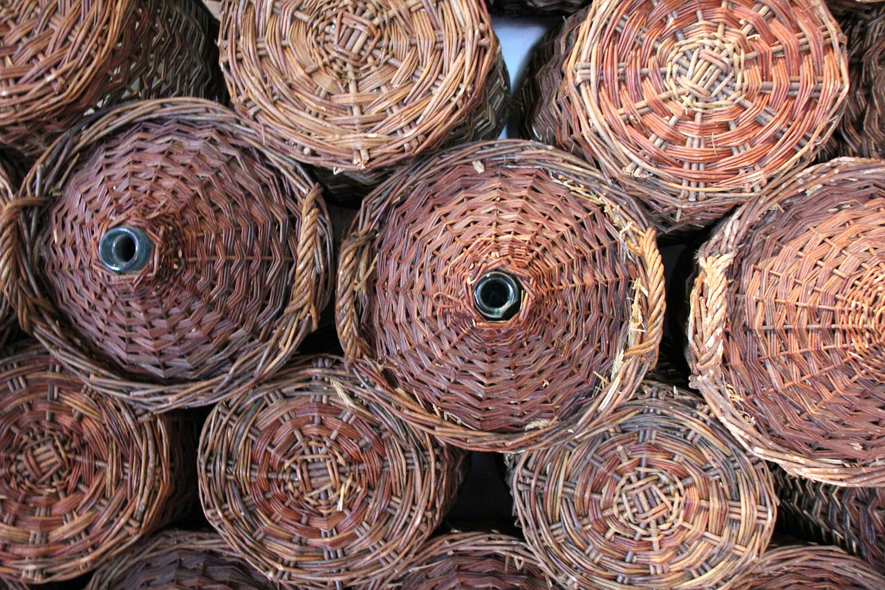 basket baskets storage free photo