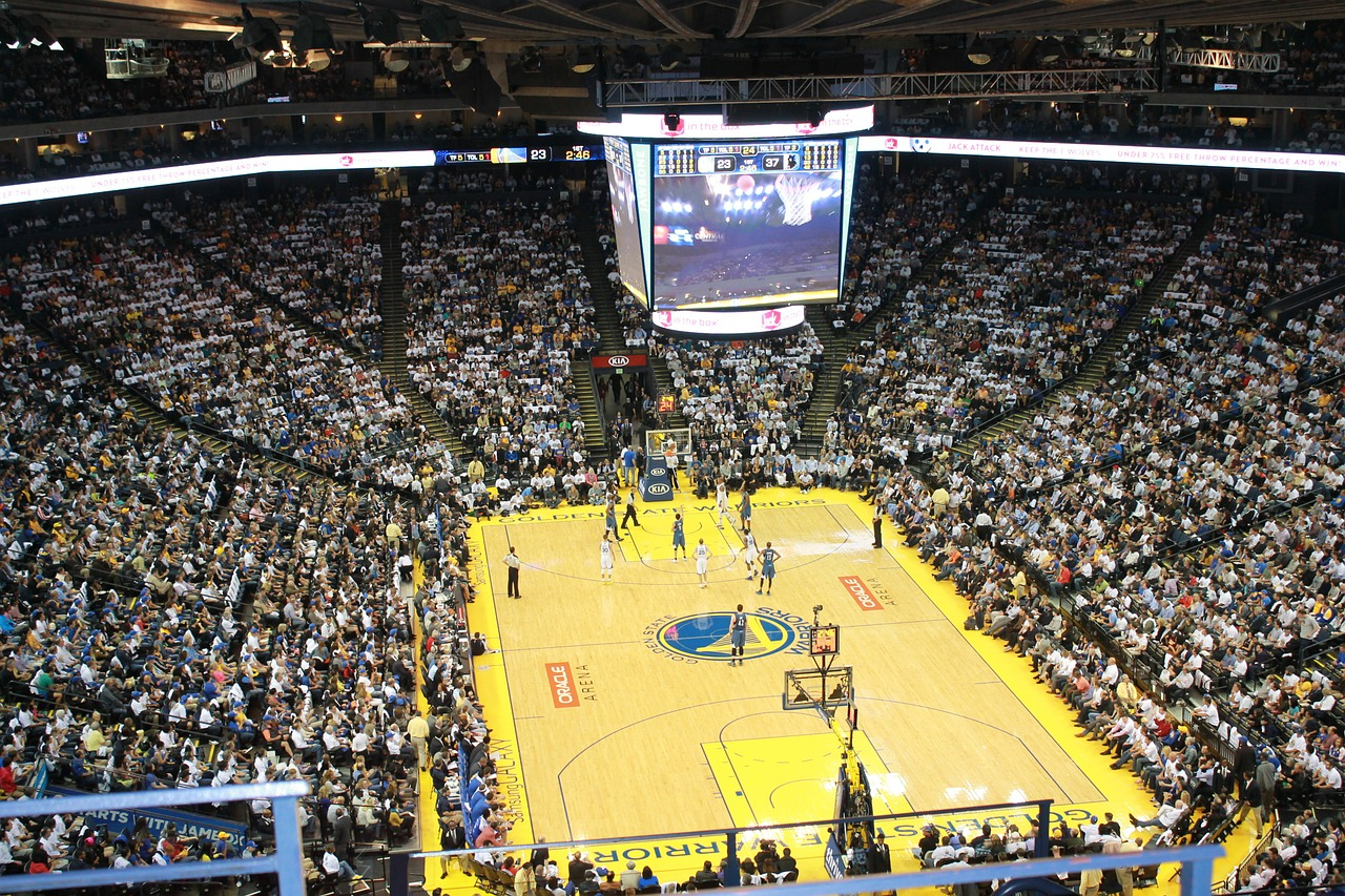 basketball stadium golden state warriors free photo