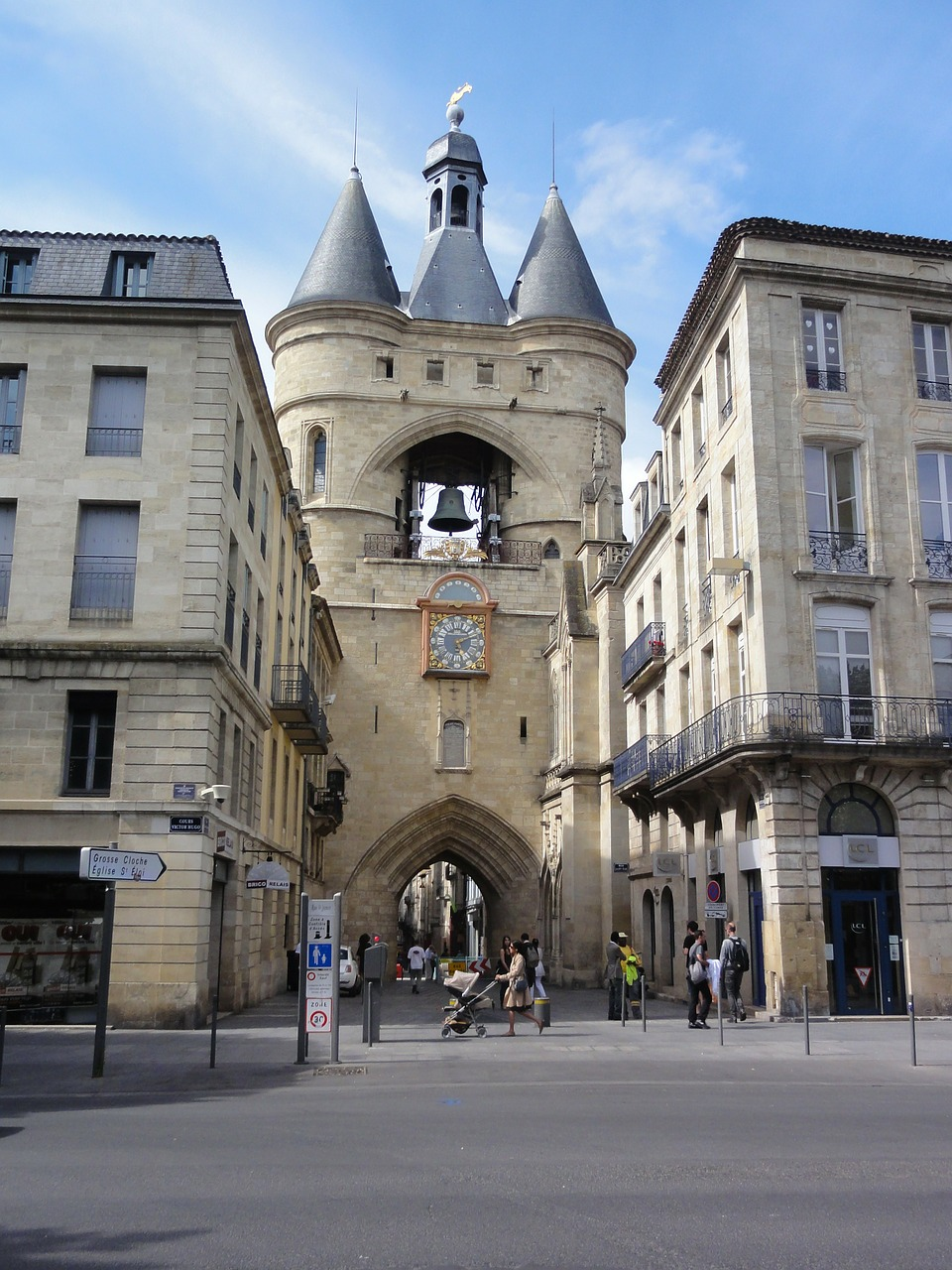 bassens france buildings free photo