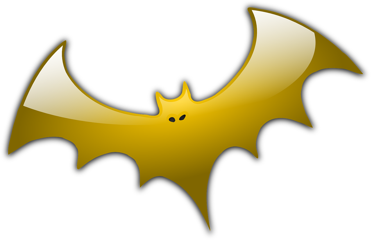 bat golden dracula free photo