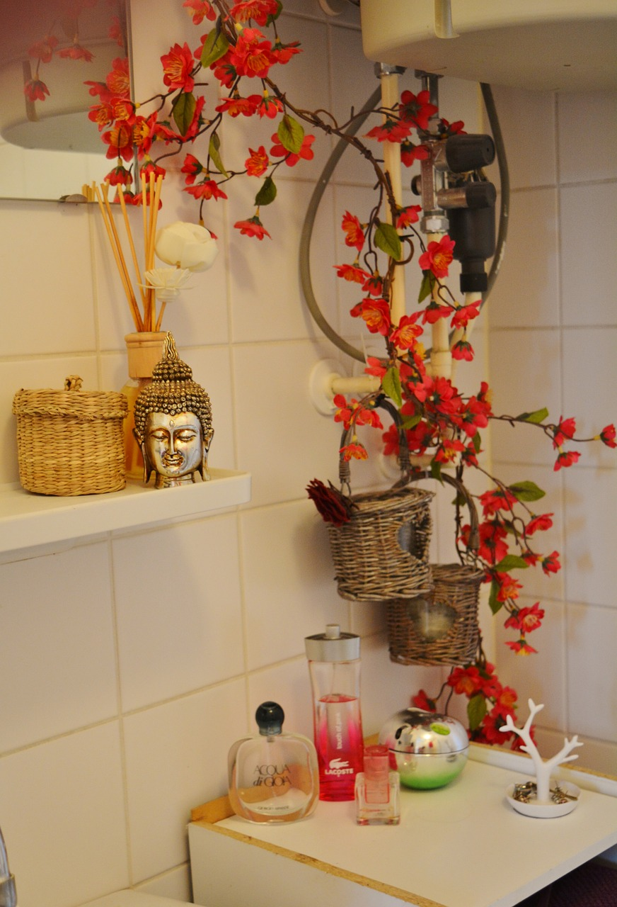BATHROOM STYLE FLOWER FREE PICTURES FREE PHOTOS FREE