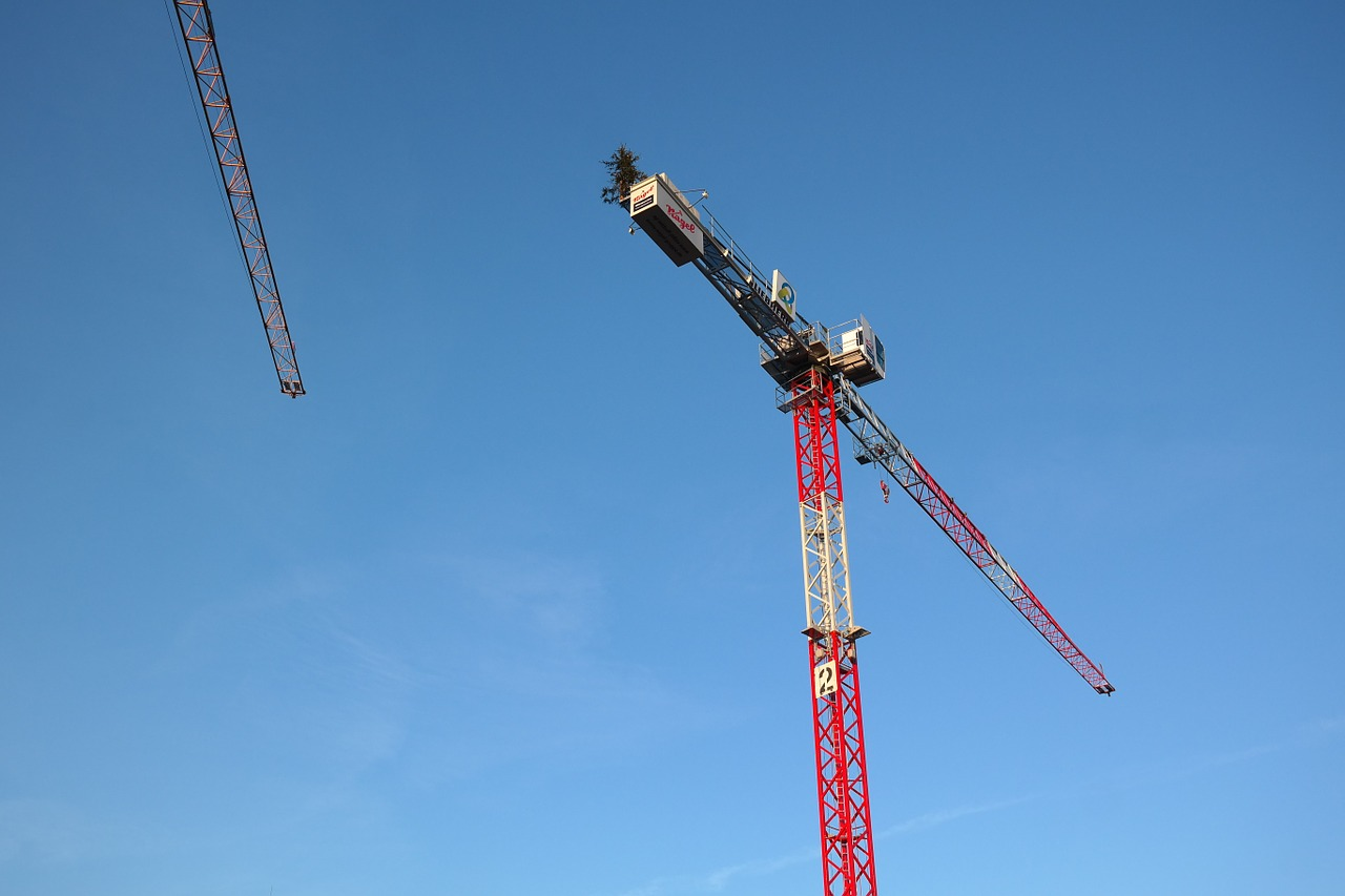 baukran crane build free photo