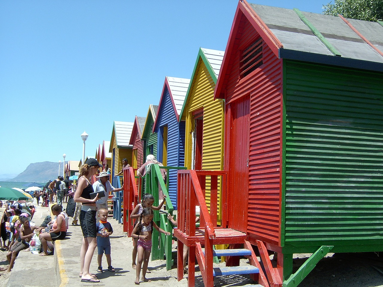 beach houses cape town vacation free photo