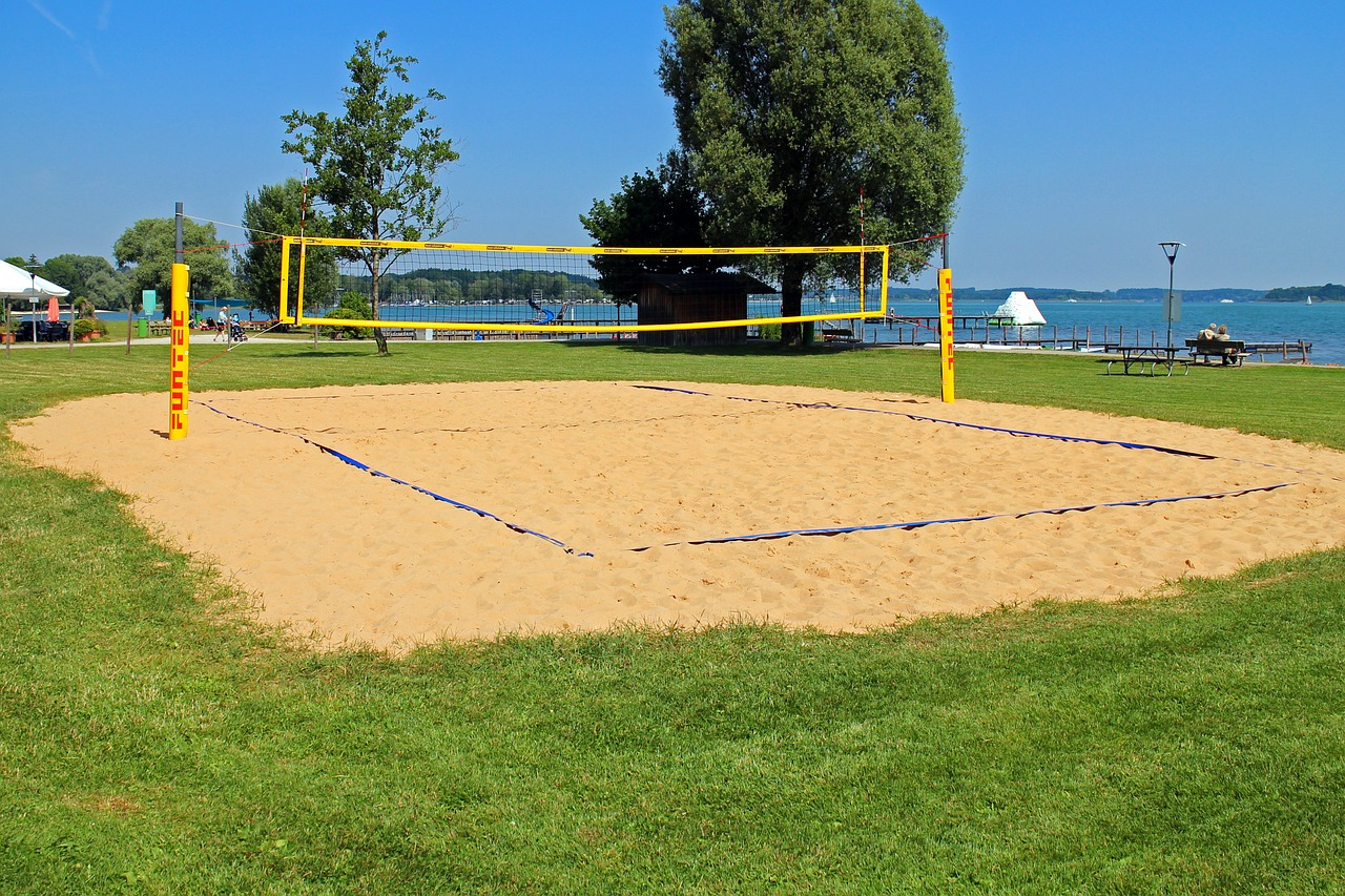 beach volley,volleyball,playing field,beach volleyball,volleyball field,volleyball net,network,sand,sport,beach plant,free pictures, free photos, free images, royalty free, free illustrations, public domain