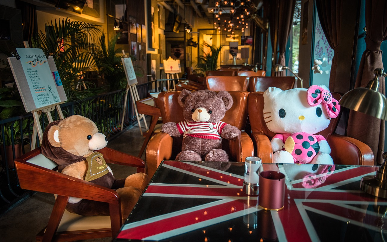 bear doll lounge cubs free photo