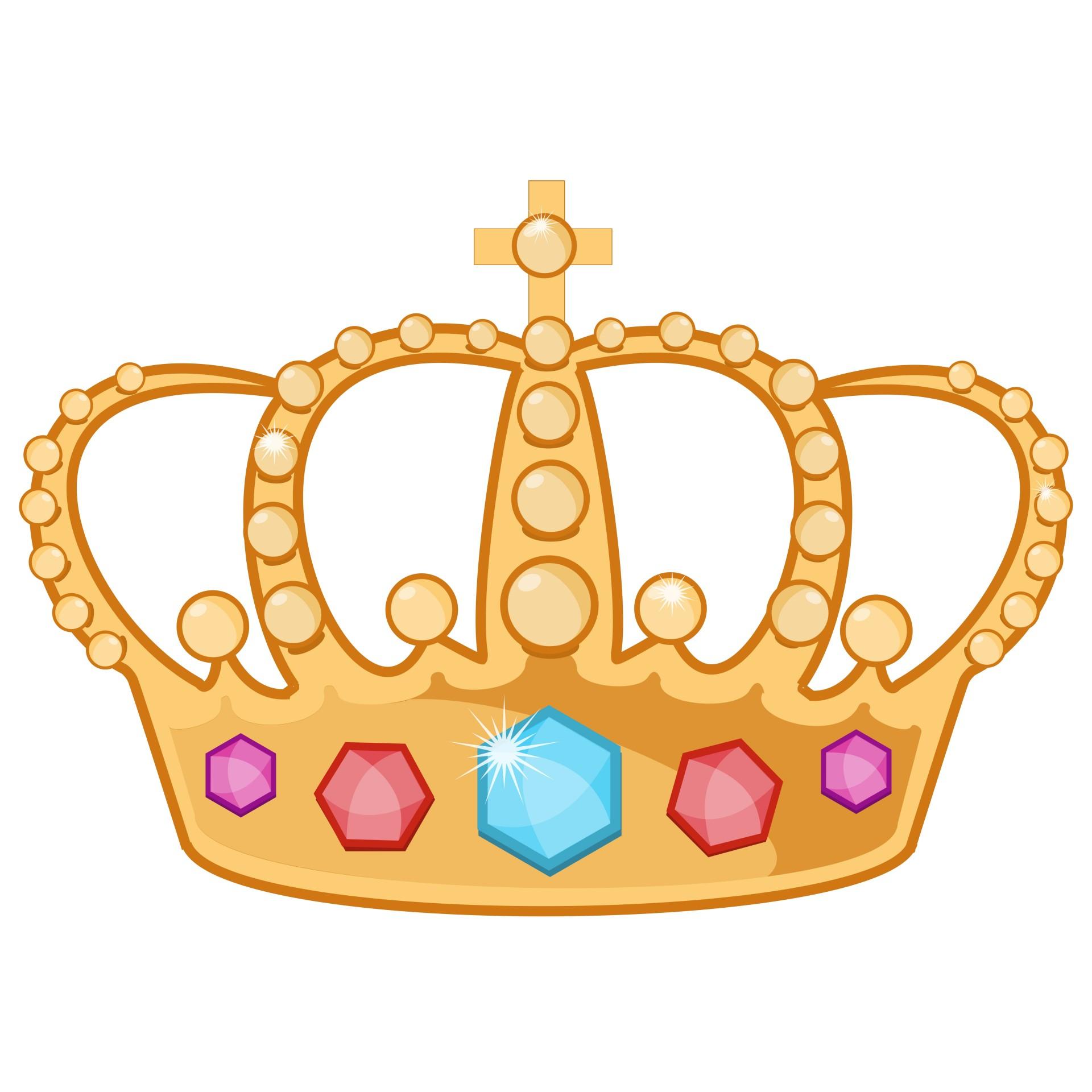 Картинка короны детская