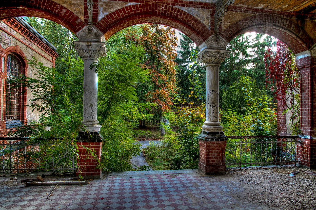 Beelitz,lost places,urban ex,hospital,wild - free photo from