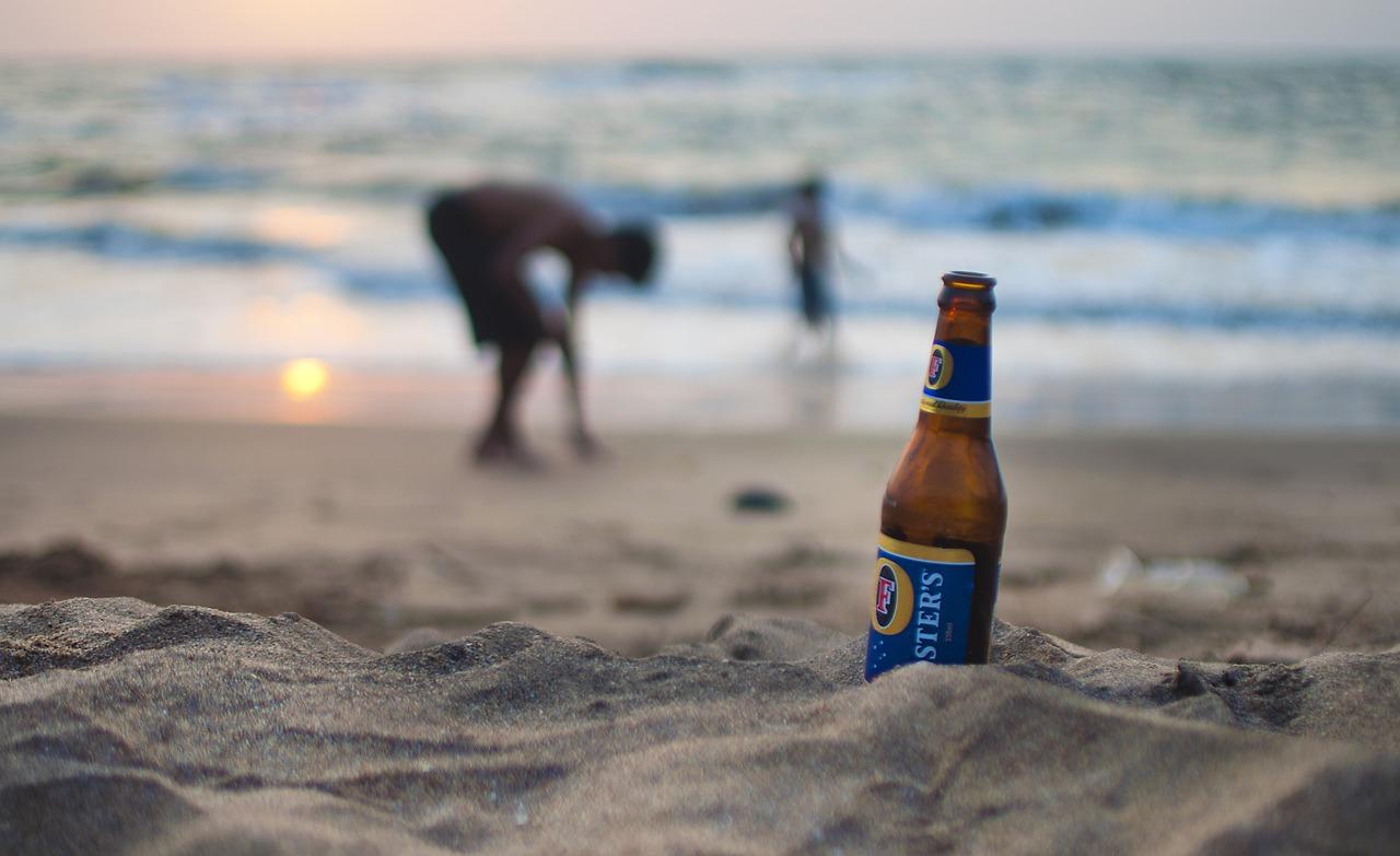 фото отдых с пивом на море вот