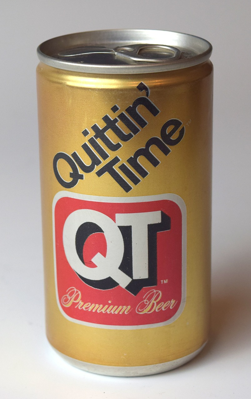 Beer,quit,quitting,can,vintage - free image from needpix.com