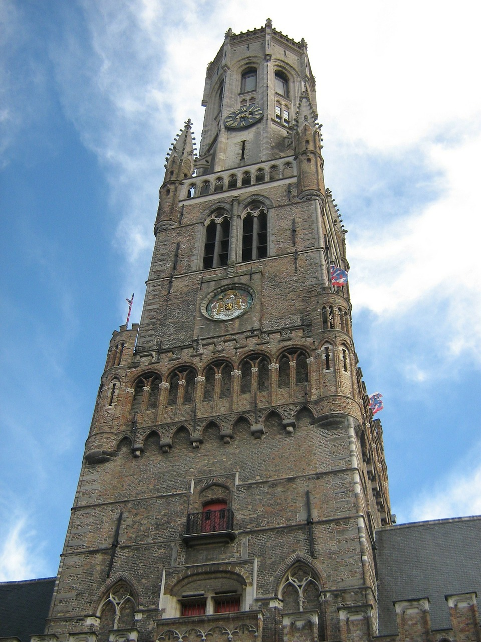 belfry of bruges church cathedral free photo